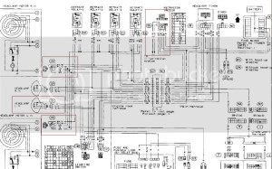 S13 240SX CHASSIS WIRING HARNESS DIAGRAM  Auto Electrical Wiring Diagram