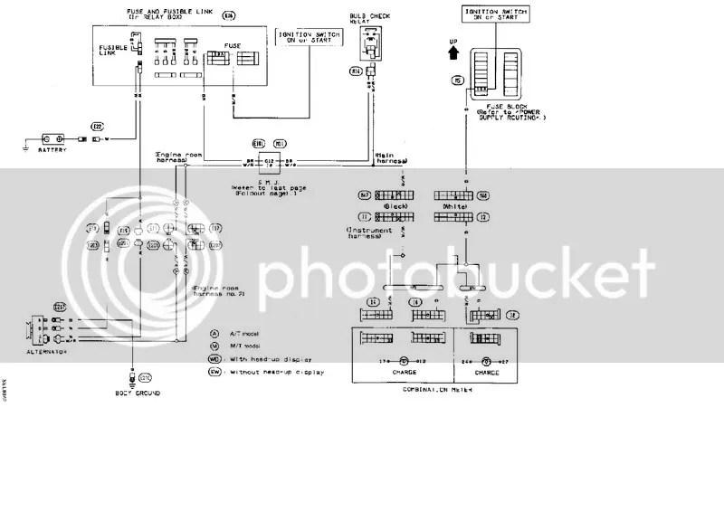 alternator wiring diagram nissan sentra electrical wiring diagram 94 nissan coupe 1993 nissan sentra alternator harness