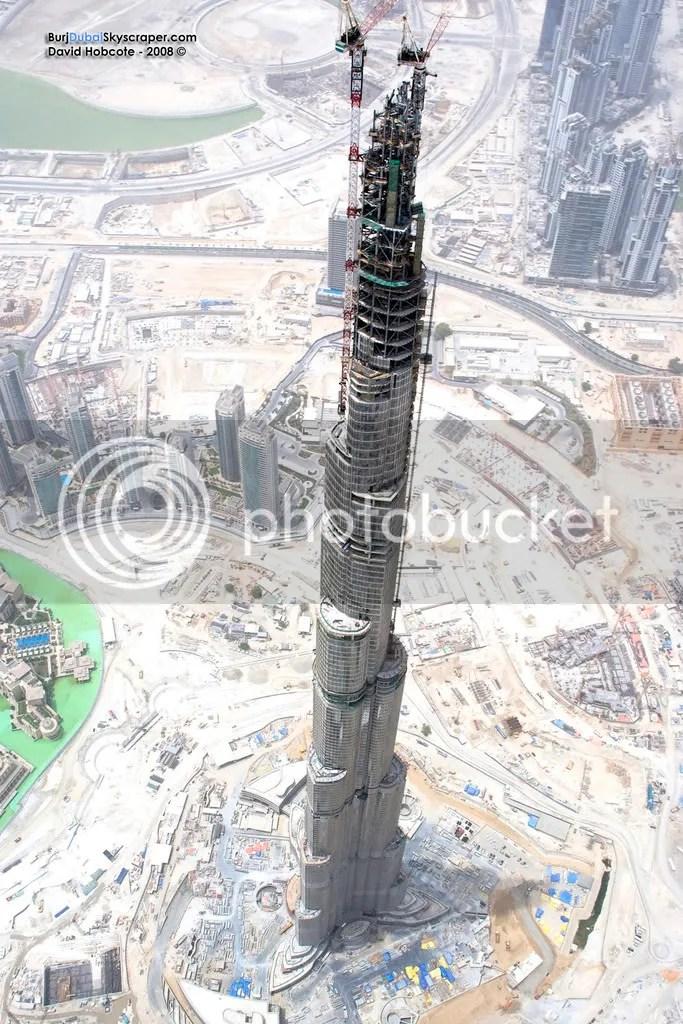 La Torre Burj Dubai esta casi terminada