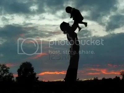 Silhouette mother Pictures, Images and Photos