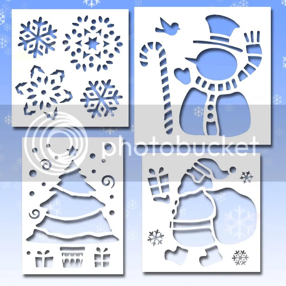 merry christmas stencil 1 christmas tree stencil