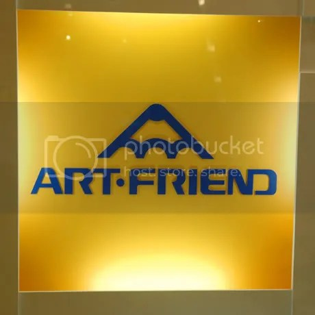 Art friend - A shop over here that sells a Hell lotta art stuff.