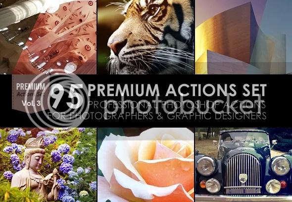 65 Premium Actions Set - 1