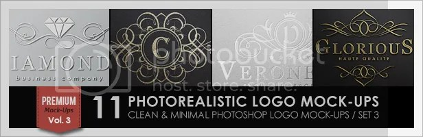 10 Photorealistic Logo Mock-Ups / Set 1 - 2