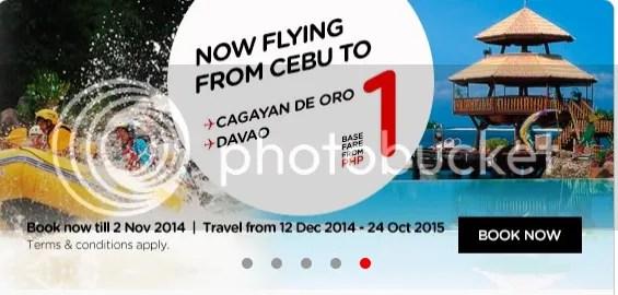 AirAsia Cebu to CDO Cebu to Davao