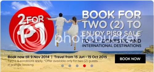 AirAsia Piso Fare 2015