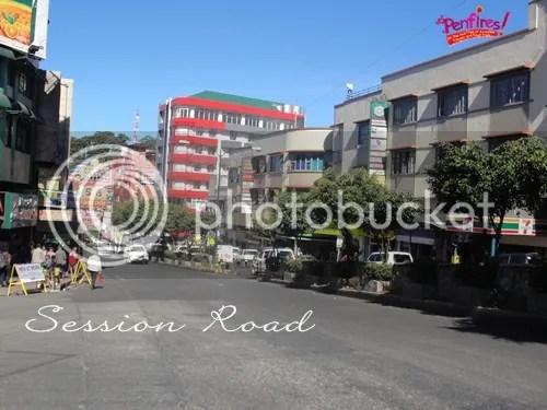 Baguio Tour - Session Road