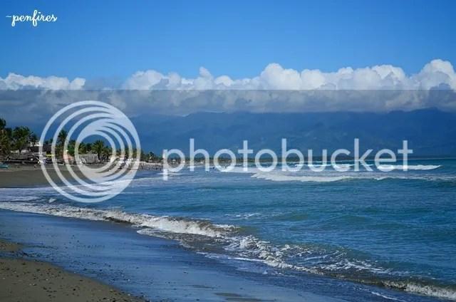 Sabang Beach Sierra Madre Mountain Range
