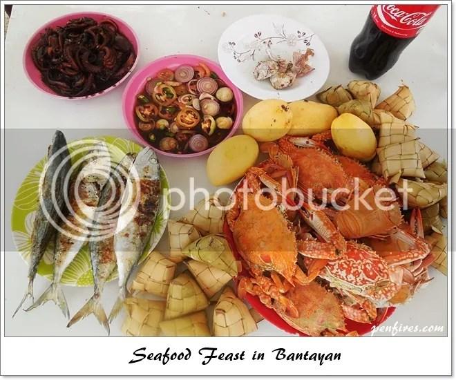 Seafood Feast in Bantayan Island Hopping