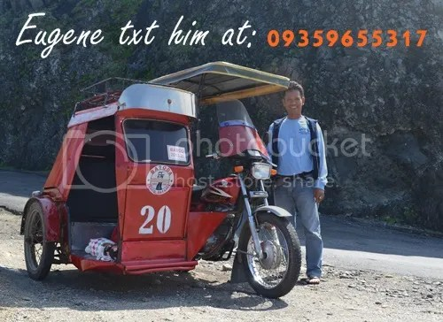 Batanes tricycle driver tour guide Eugene