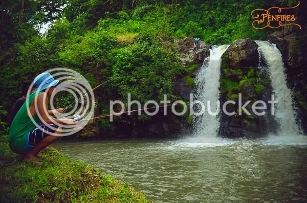 Bunga Falls fishing