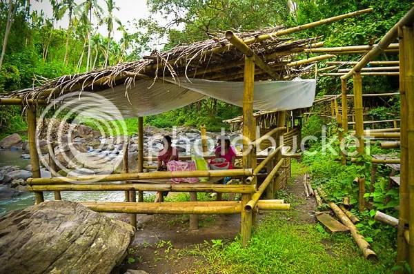 Bunga Falls Nagcarlan Nipa Cottage