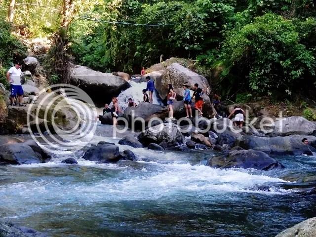 River current Dalitiwan Resort