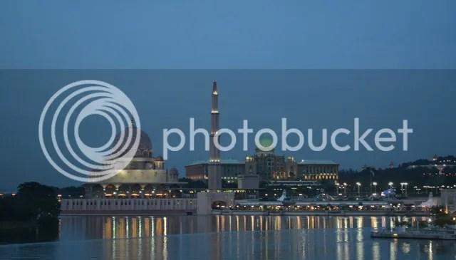 Pink Mosque Masjid Putra
