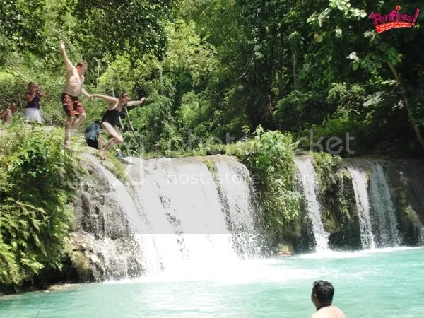 Waterfalls Jumping