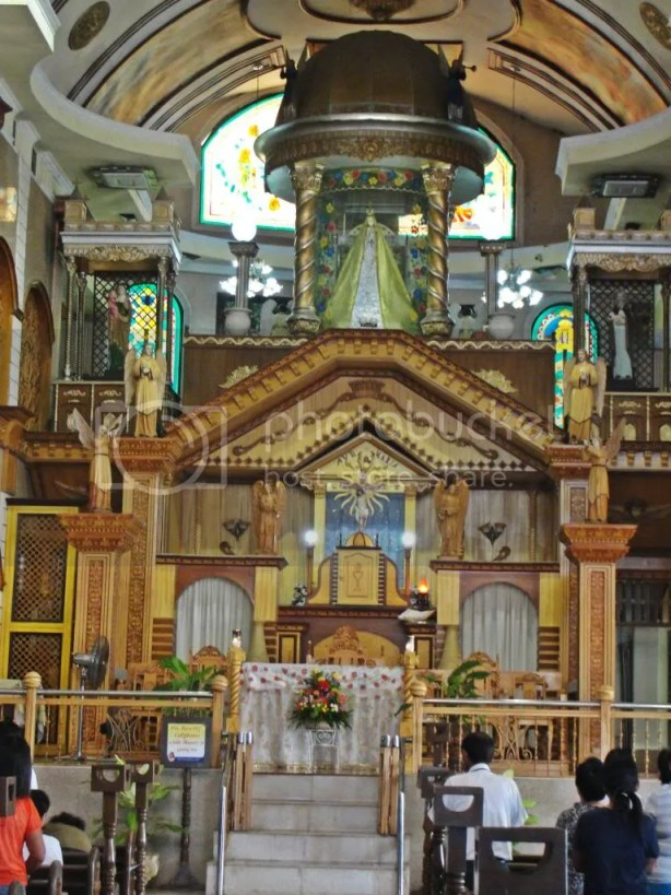 Simala Church Altar