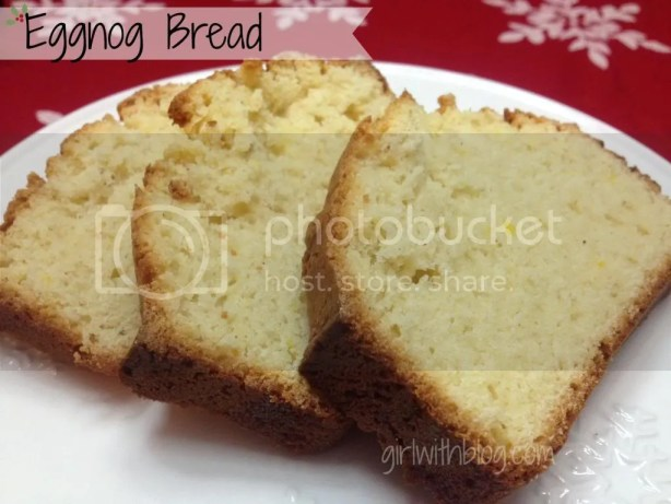 Eggnog Bread from GirlWithBlog.com
