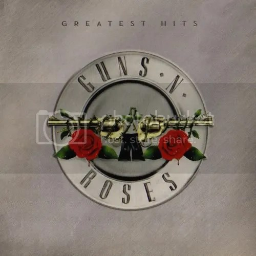 Guns N' Roses - Greatest Hits CD Front cover