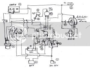 Vac hose diagram for '89 corolla LE  Toyota Nation Forum