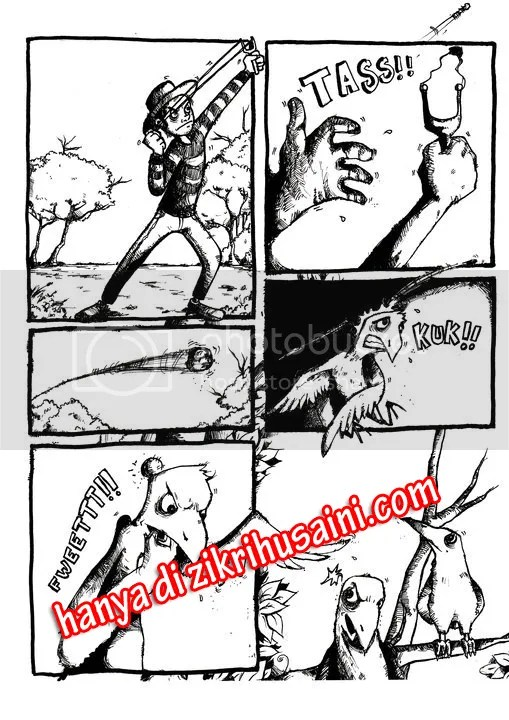 komik part 1, komik malaysia