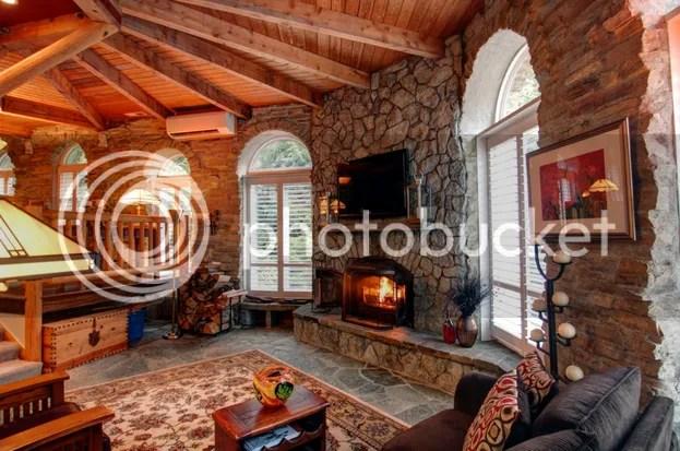 Interior del castillo de Sedro-Woolley (Washington), salón o sala de estar