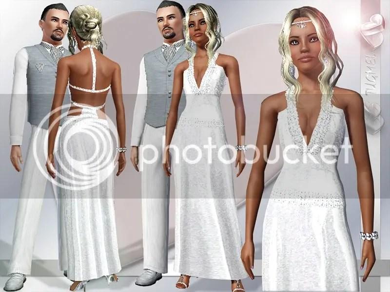 vestidos de novia,ropa y algo mas para los sims 3 | sims cheats