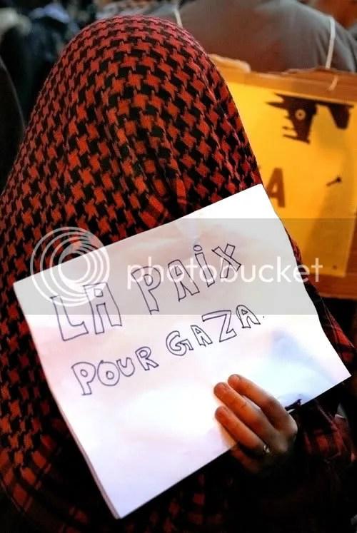 Rassemblement unitaire en soutien au peuple Palestinien place de l'Opéra à Paris le 27-12-08  (5/5)
