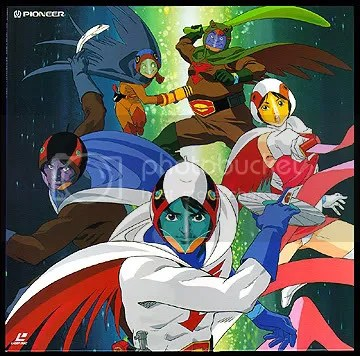 Gatchaman - G-Force