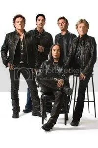 Journey band with their Filipino front man - Arnel Pineda