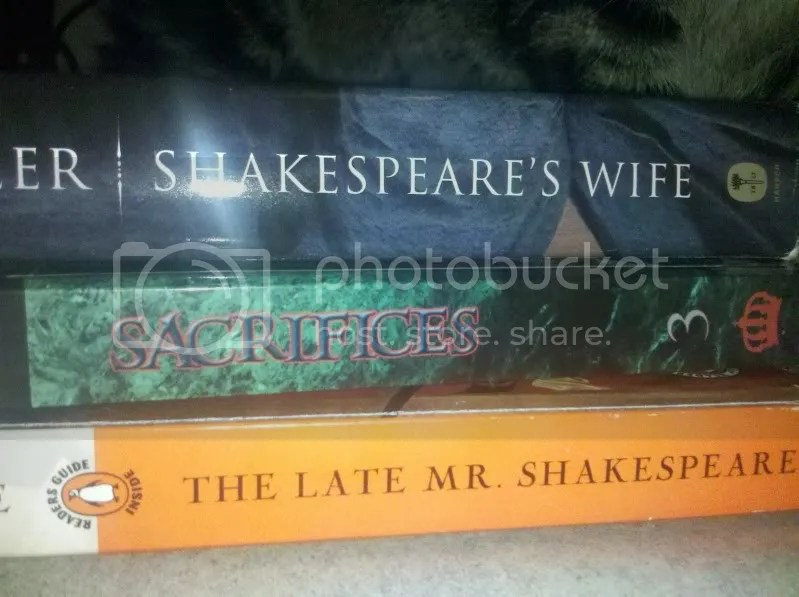 Shakespeares Wife Sacrifices The Late Mr Shakespeare.