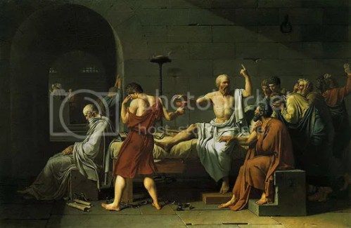 A Morte de Sócrates - Jacques-Louis David