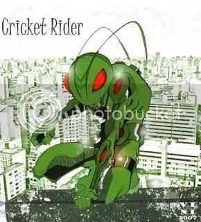 Cricket Rider por Vini