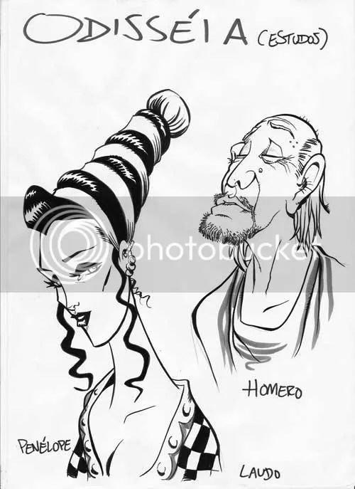 Penélope e Homero