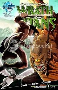 Quadrinhos de Fúria de Titãs