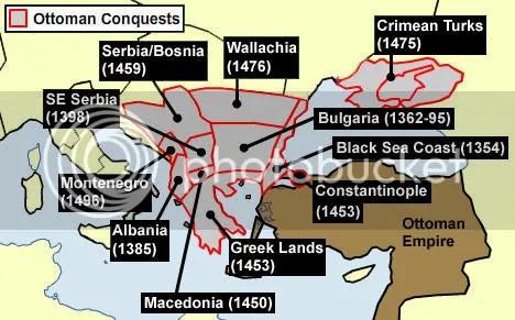 Ottoman Empire Conquests