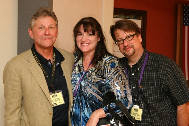Merlin's Bobby Palkovich, Colleen Cardas and Marc Philips