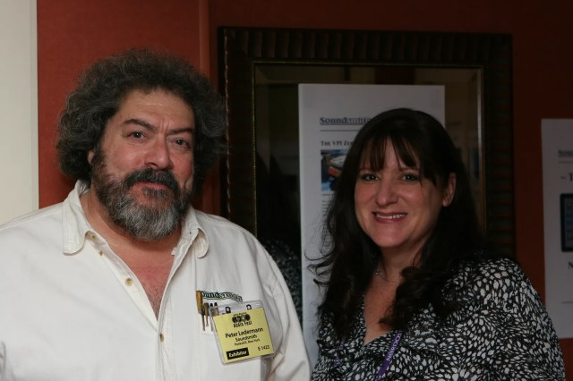 Peter Lederman of Soundsmith and Colleen Cardas