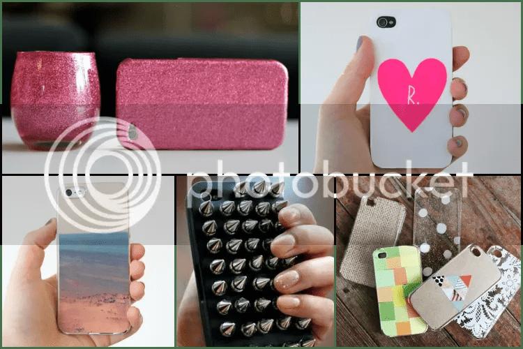 diy, summer, 2013, blogger, ideas, inspiration, case, iphone, studs, glitter