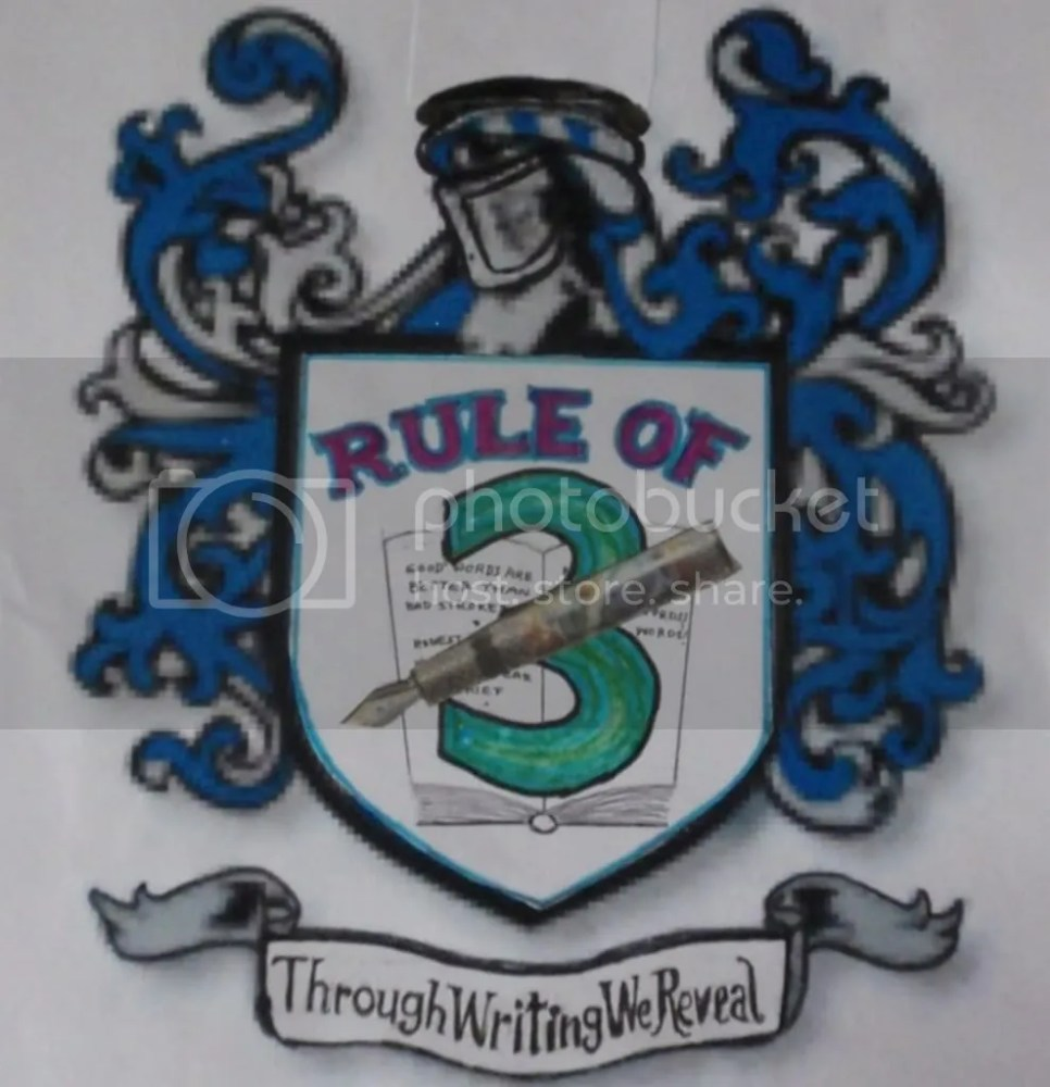 The Rule of Three Writers Blog Fest (1/2)