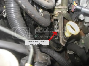 Changed Suction Control Valve  (D40) (with pics)  NissanNavara