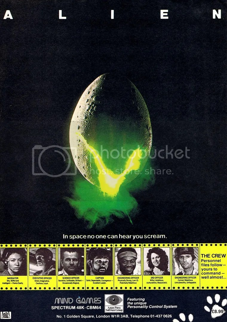 Alien ad 1984