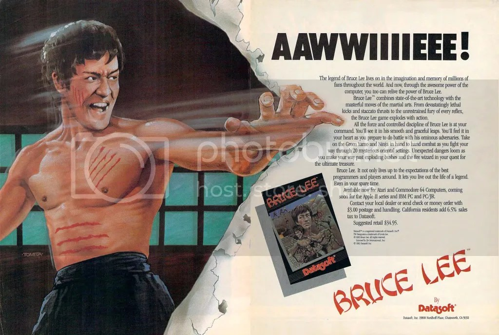 Bruce Lee ad 1984