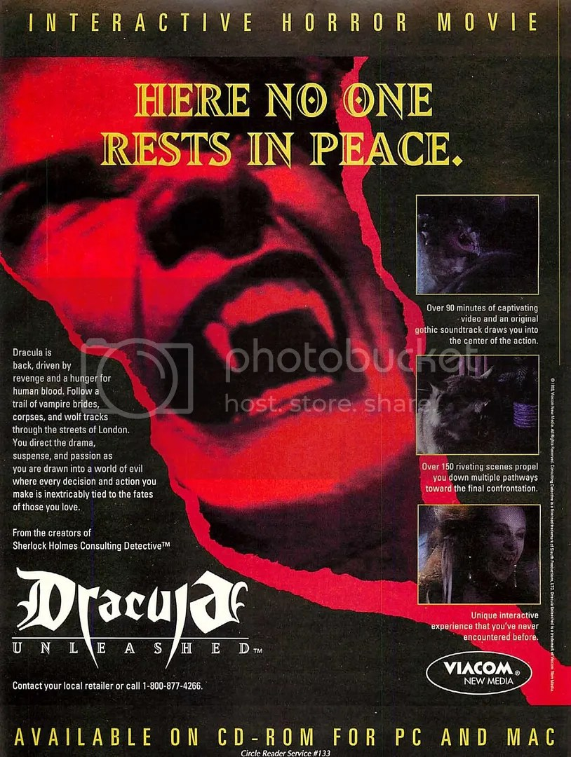 Dracula Unleashed 1993