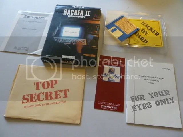 Hacker II Box contents