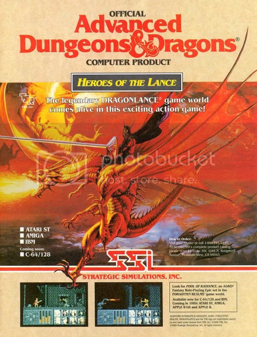Heroes of the Lance 1988