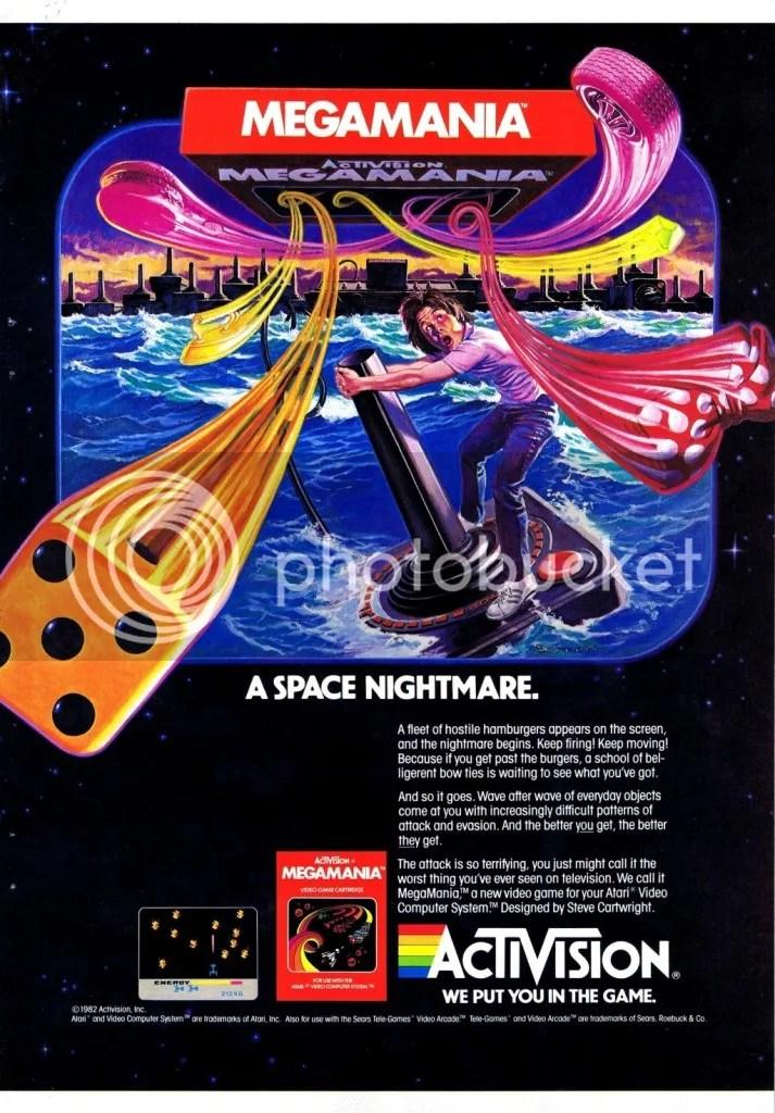 MegaMania ad 1983
