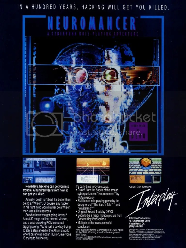 Neuromancer ad 1988