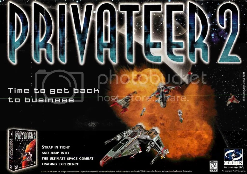 Privateer 2: The Darkening 1996