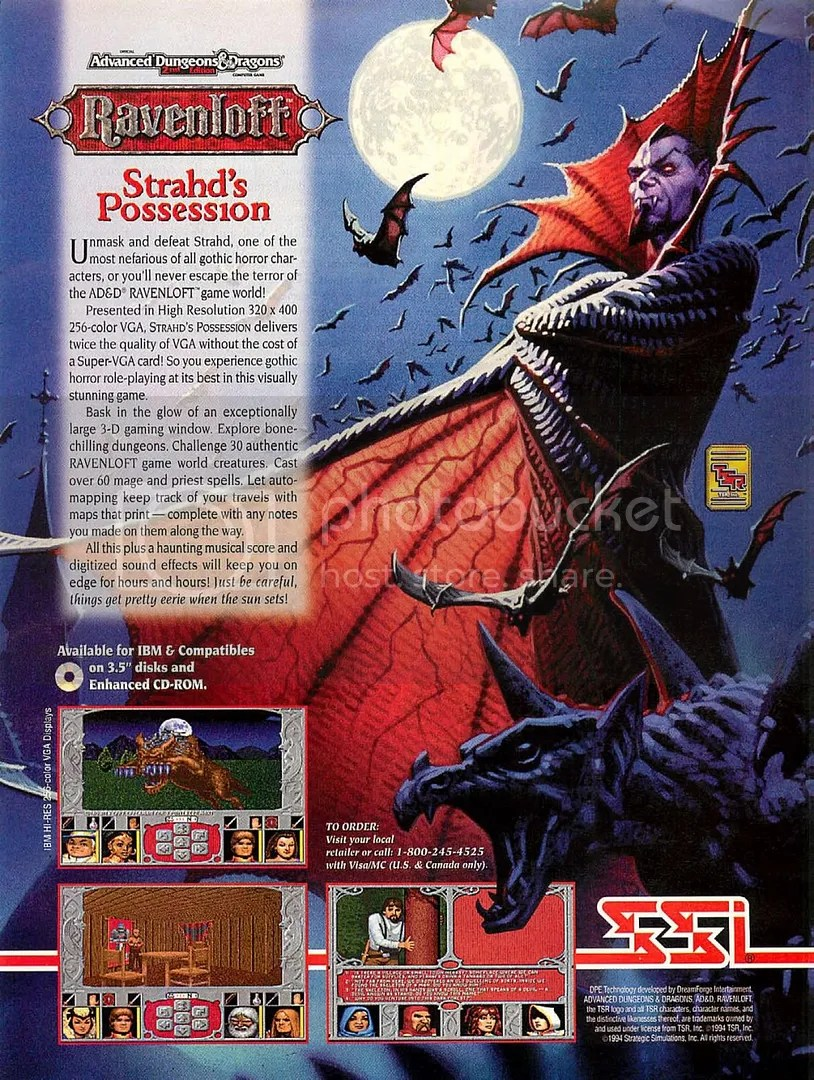 Ravenloft: Strahd's Possession 1994
