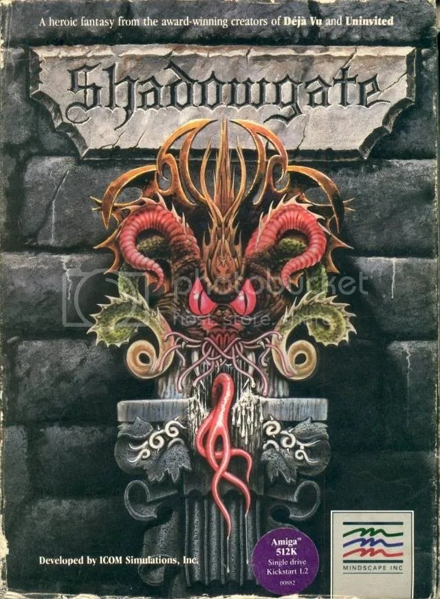 Shadowgate original box art
